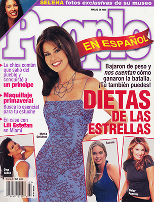 LUCERO REVISTA PEOPLE 1999