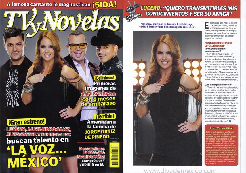 Lucero agenda 2011