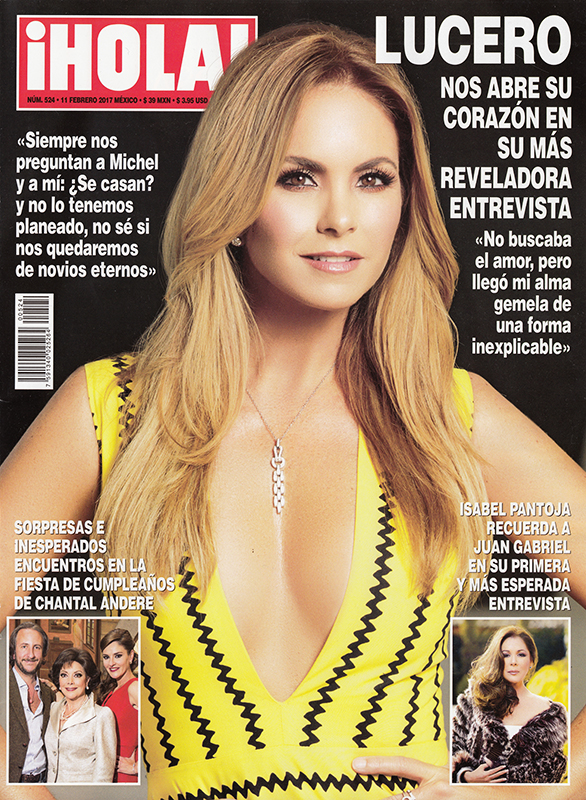 LUCERO PORTADA REVISTA HOLA MX FEB 2017