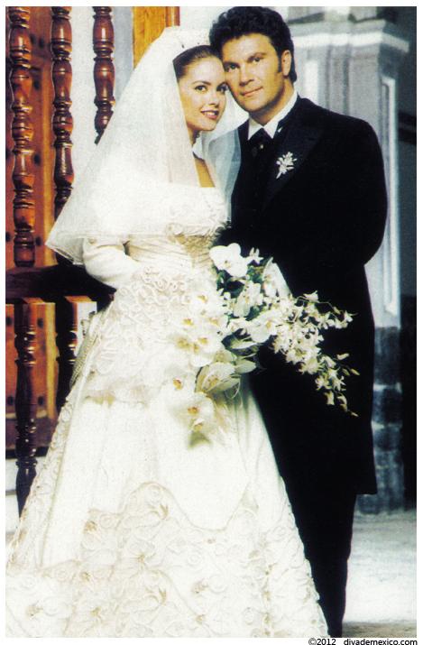 Imagenes del vestido de novia de lucero